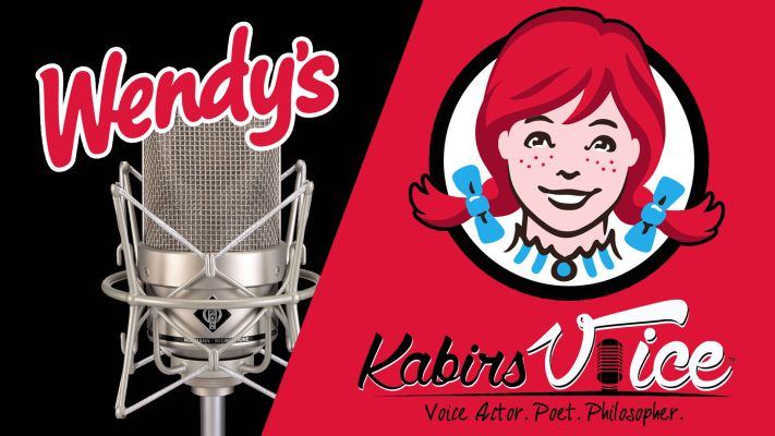 View a professional voice over recording. Tap here to watch this pro voice over demo recording for Wendy's.