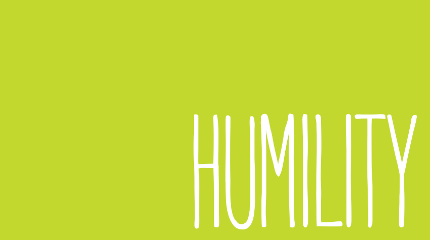 Learn how to get humility, be humble, stay grounded all by helping your mom.